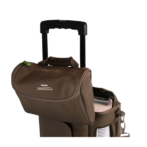 SimplyGo Accessory Bag Installed on Travel Cart