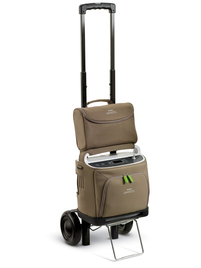SimplyGo Travel Cart with Accessory Bag