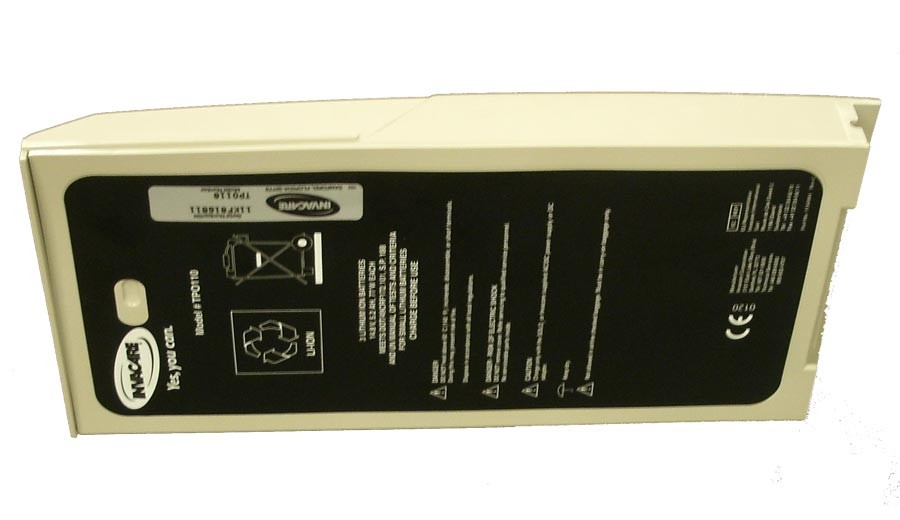 Bottom of the Invacare SOLO2 Battery