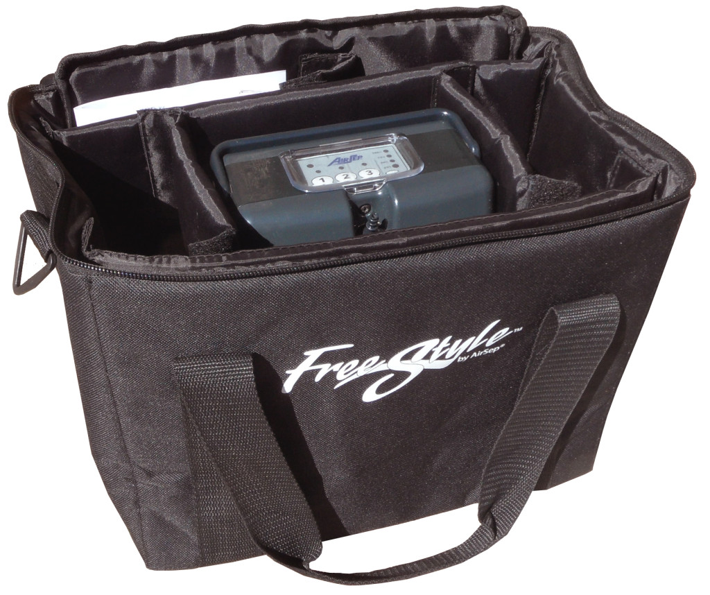 Inside the AirSep FreeStyle 5 Accessory Bag